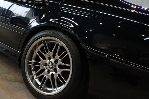 BMW M5 E39 カーボンブラック コーティング ホイール