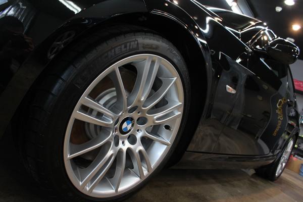 BMW335iクーペ(ブラックサファイア)ホイール
