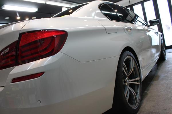BMW M5 F10 右クォーター