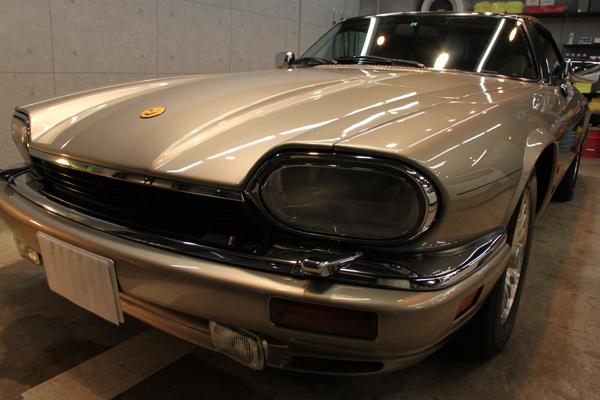 ジャガー XJ-S V12 コンバーチブル(トパーズ)左前方