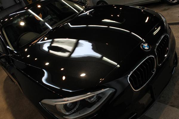 BMW 116i スポーツ(F20)ブラックサファイア ボンネット