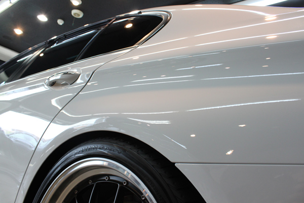 BMW535i F10 アルピンホワイト クォーター