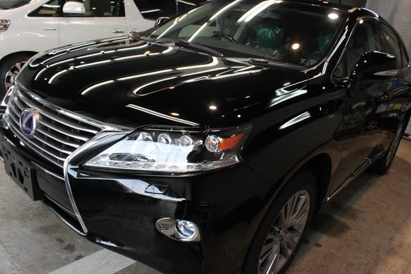 レクサス RX450h(ブラック)左全体