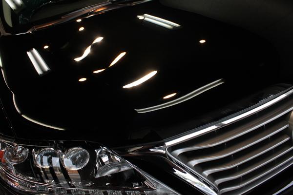 レクサス RX450h(ブラック)ボンネット