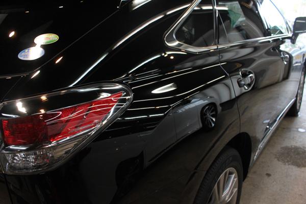 レクサス RX450h(ブラック)右クォーター