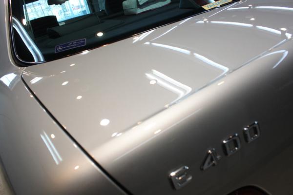 メルセデスベンツ E400 (W210) アヴァンギャルド ブリリアントシルバー トランク