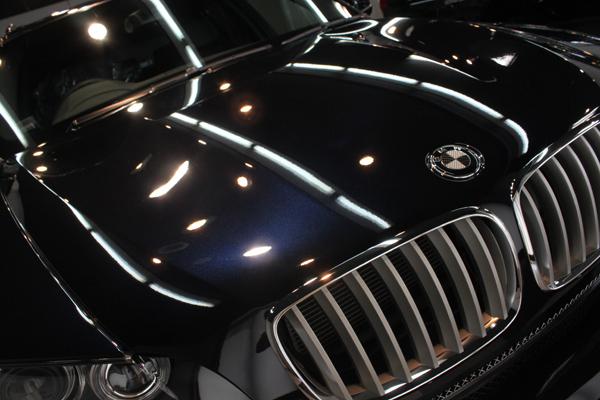 BMW X5(カーボンブラック)ボンネット