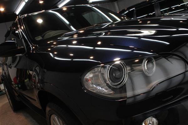 BMW X5(カーボンブラック)右フェンダ