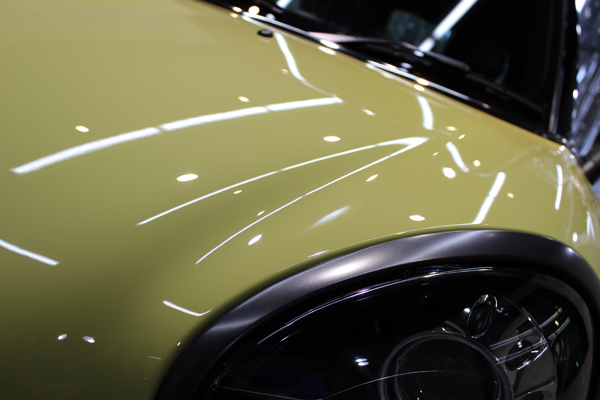 BMW MINI クーパーS クロスオーバー オール4  ボンネット