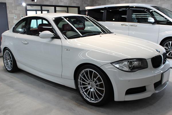 BMW135i右側面