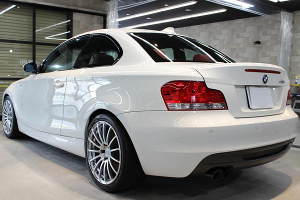 BMW135i左側面