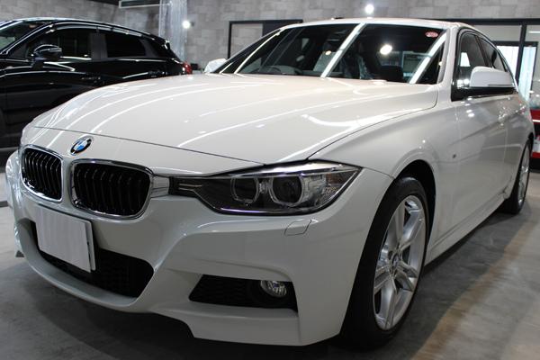 スポーツセダンの代名詞、BMW3シリーズのカーコーティング