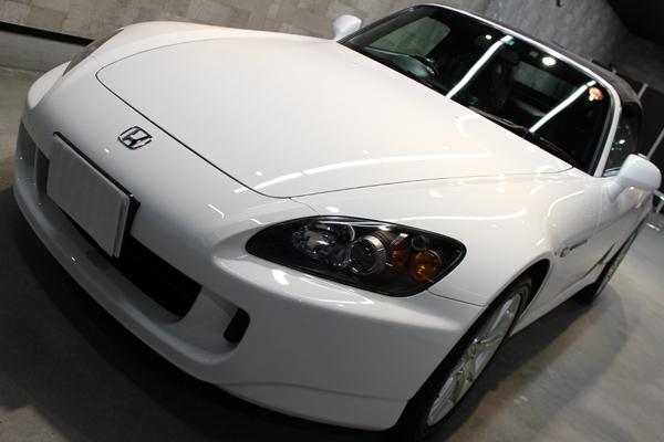 ホンダ S2000 左ヘッドライト