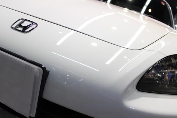 ホンダ S2000 ボンネット左