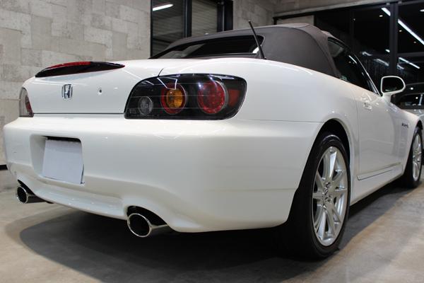 ホンダ S2000 右側面後方