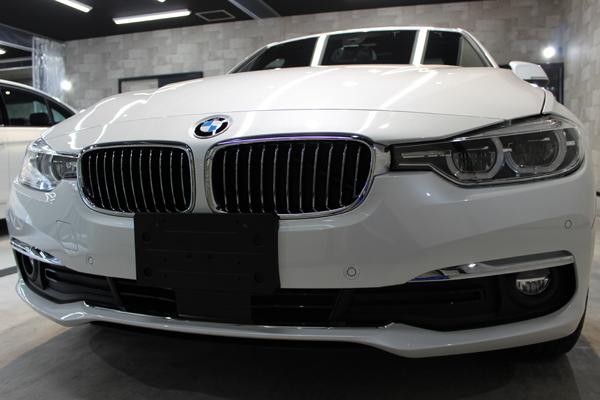BMW320ixDriveフロントバンパー