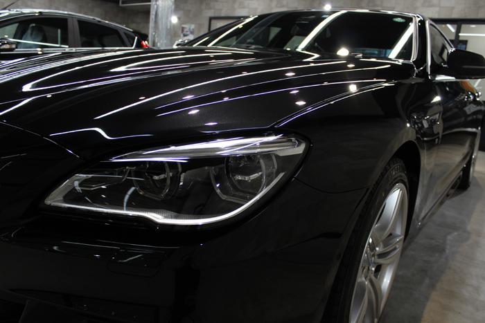 BMW 640i グランクーペ Mスポーツ ブラックサファイア ヘッドライト2