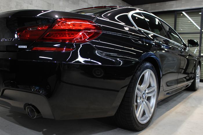 BMW 640i グランクーペ Mスポーツ ブラックサファイア テールレンズ