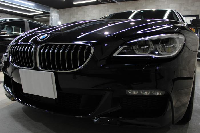 BMW 640i グランクーペ Mスポーツ ブラックサファイア キドニーグリル2