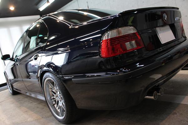 BMW M5 E39 カーボンブラック コーティング 左クォーター