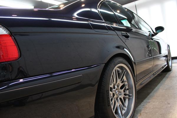 BMW M5 E39 カーボンブラック コーティング 右クォーター