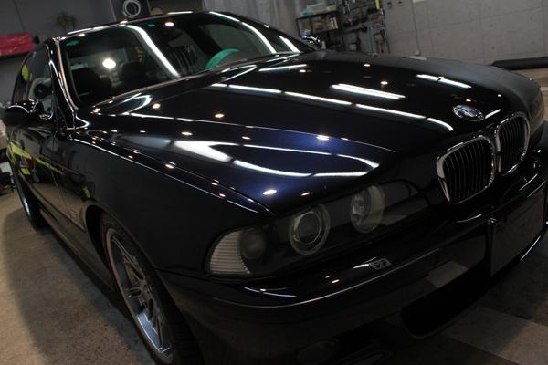 BMW M5 E39 カーボンブラック コーティング フロント右