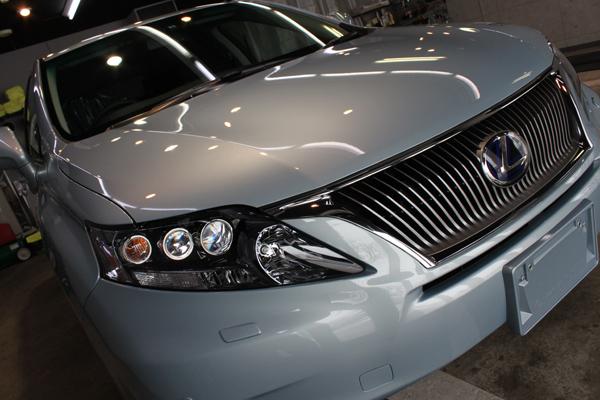 レクサスRX450hのカーコーティング。しっとりとした艶と光沢を湛えた極上の美しさへ。