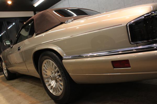 ジャガー XJ-S V12 コンバーチブル(トパーズ)左クォーター