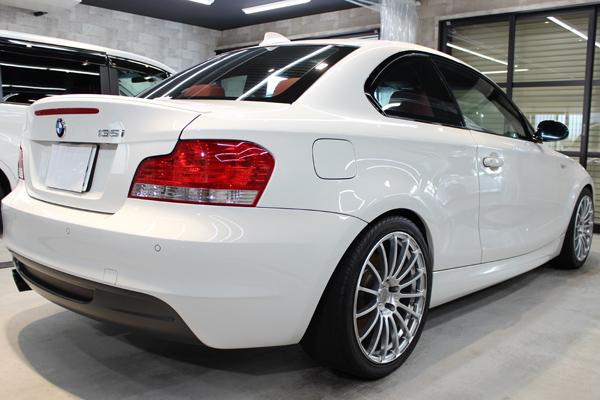 BMW135i右側面後方