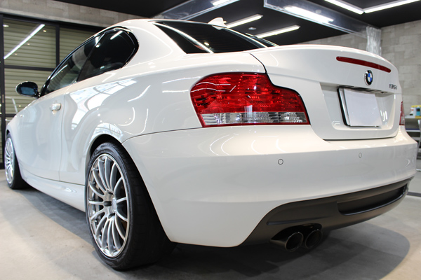 BMW135i左側面後方
