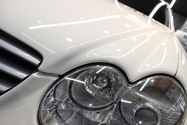 SL350左ヘッドライト