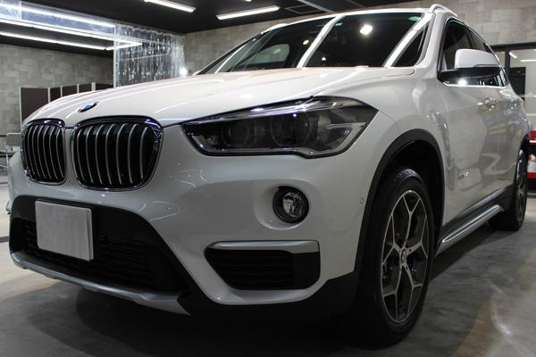 美しさを長期的に保つために。BMW X1のカーコーティング