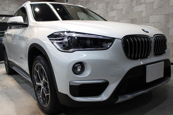 BMW X1正面右