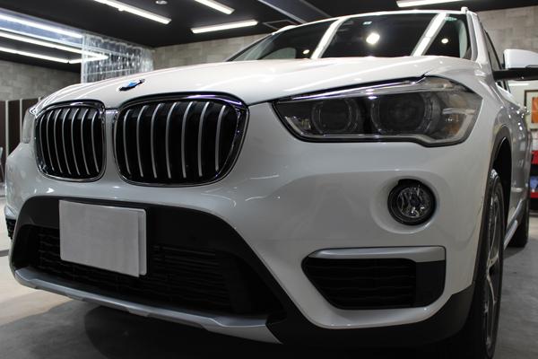 BMW X1フロントバンパー