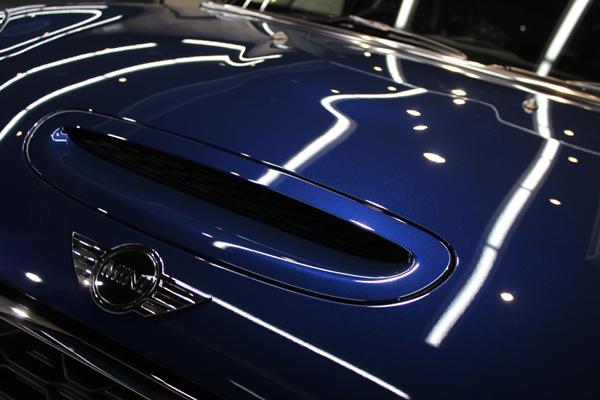 BMWミニクーパーS ボンネット