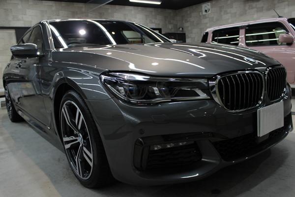 BMW 740i Mスポーツ マジェリングレーメタリック キドニーグリル