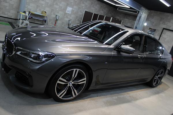 BMW 740i Mスポーツ マジェリングレーメタリック ホイール1