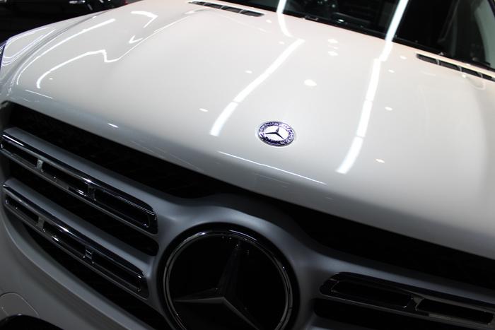 メルセデスベンツ GLS 350d 4マチック スポーツ ダイヤモンドホワイト ボンネット2