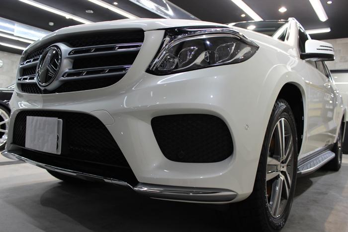 メルセデスベンツ GLS 350d 4マチック スポーツ ダイヤモンドホワイト フロントバンパー4