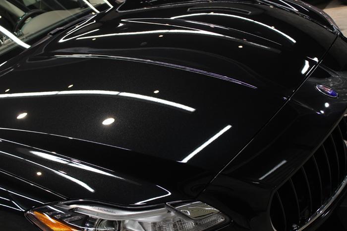 マセラティ クアトロポルテ GTS ネロリベーレ ヘッドライト