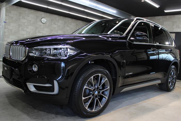 BMW X5 xDrive35d ブラックサファイア ホイール2