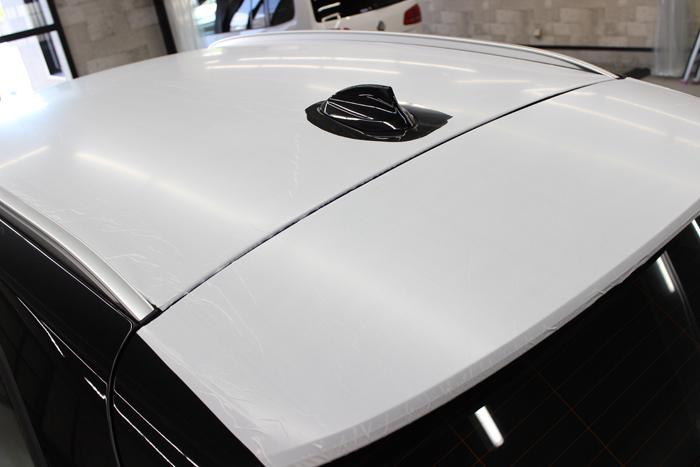 新車の塗装保護シート