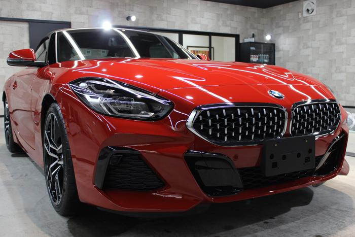 BMW Z4 サンフランシスコレッド キドニーグリル