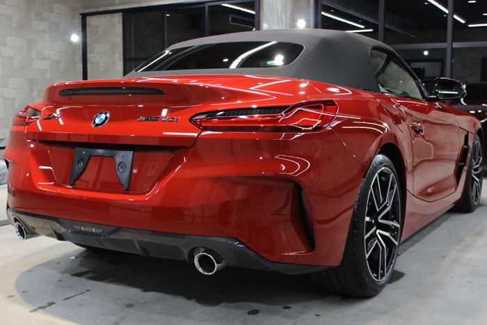 BMW Z4 サンフランシスコレッド リアバンパー右