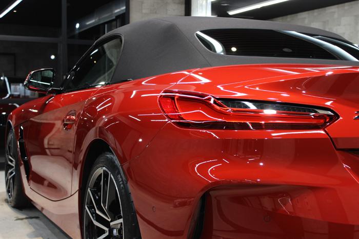 BMW Z4 サンフランシスコレッド テールライト