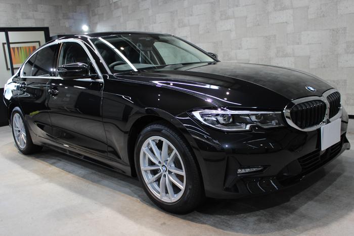 BMW 3シリーズ G20 ブラックサファイア ホイール右