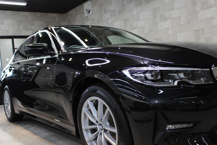 BMW 3シリーズ G20 ブラックサファイア ヘッドライト