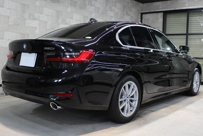 BMW 3シリーズ G20 ブラックサファイア リアバンパー