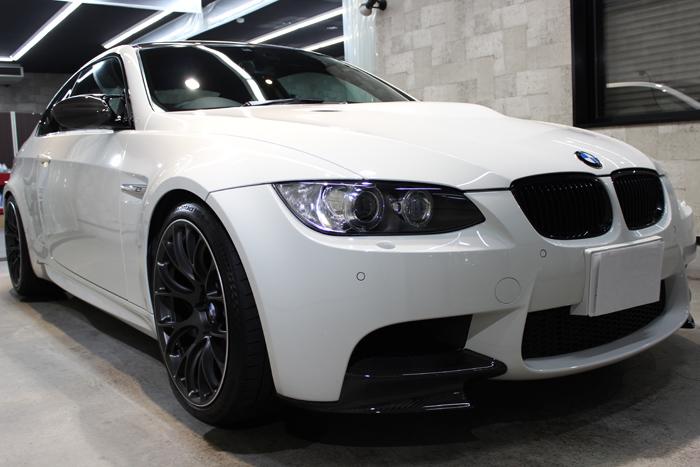 「白さが変わる」BMW M3