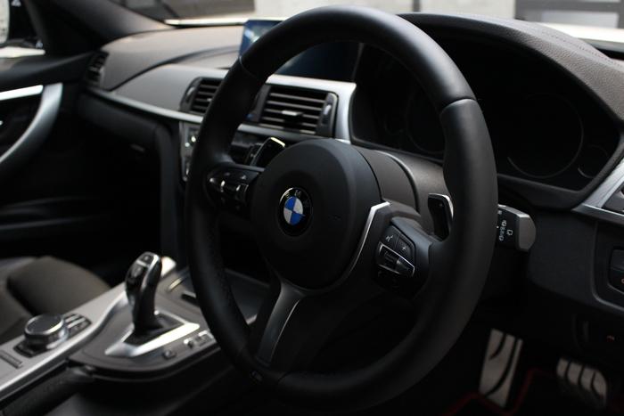 BMW 320d シートコーティング ダコタレザー ステアリング